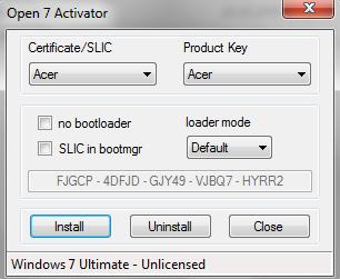 Chew WGA - лучший рабочий и безопасный активатор для всех версий Windows 7.